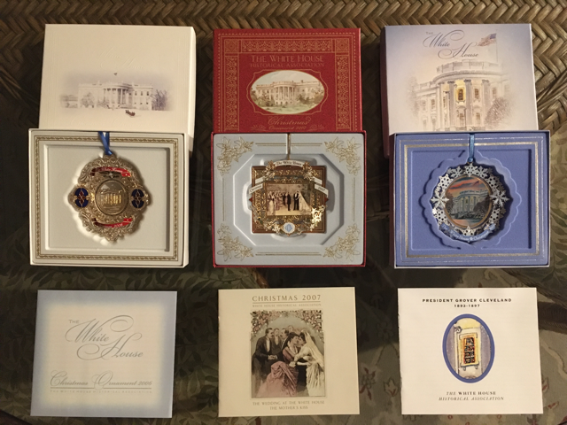 ROTHROCK WHITE HOUSE CHRISTMAS ORNAMENT COLLECTION